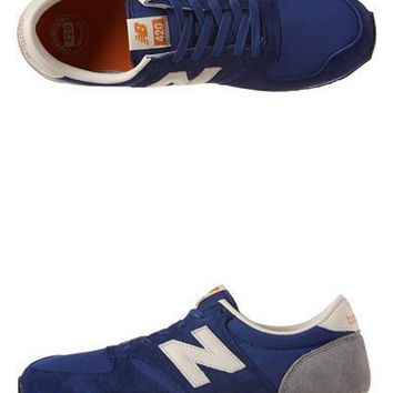 new balance u420 s trainers rbb deep blue