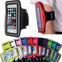 Workout Arm Band Sport Case For iPhone 6 6S 4.7 Inch Nylon Sports Gym Running Holder Pouch Durable Smartphone Case