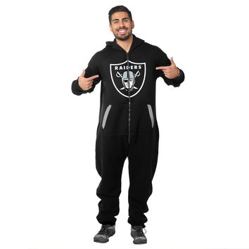 Oakland Raiders Adult One Piece KLEW Sport Suit Sizes XS-XL w/ Priority Shipping