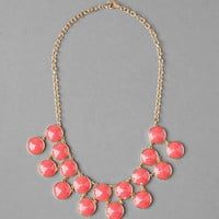 WOODBURY JEWELED STATEMENT NECKLACE