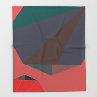 Shape Play 2 Throw Blanket by duckyb