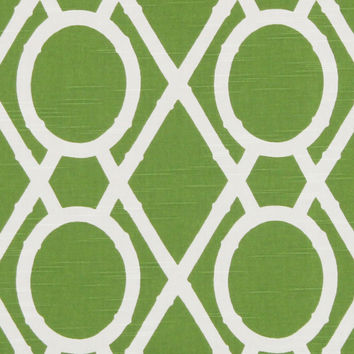 Home Decor Print Fabric-Robert Allen Lattice Bamboo- Leaf | JOANN