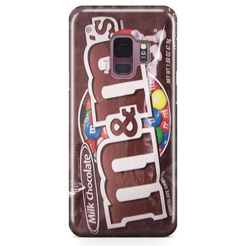 M&M Chocolate Candies Samsung Galaxy S9 Plus Case | Casefantasy