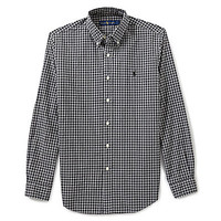 Polo Ralph Lauren Plaid Poplin Shirt - Black/White
