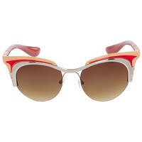Zetta Sunglasses - Red