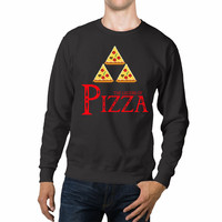 The Legend Of Zelda Pizza Unisex Sweaters - 54R Sweater