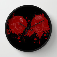 Twenty One Pilots 2 Wall Clock by Samantha Ruiz