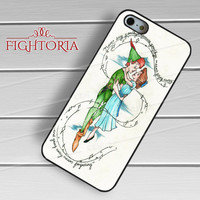 Disney peter pan and wendy -sddh for iPhone 4/4S/5/5S/5C/6/6+,samsung S3/S4/S5/S6 Regular/S6 Edge,samsung note 3/4