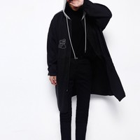 Hooded Long Parka Jacket