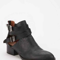 Jeffrey Campbell Everly Cutout Ankle Boot- Black 10