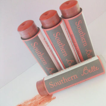 Southern Belle Mineral Lip Tint- All Natural-Vegan Friendly- With Shea Butter-lipstick-lip balm