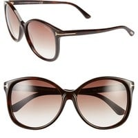 Women's Tom Ford 'Alicia' 59mm Sunglasses