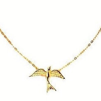 Sheila Fajl Flying Bird Delicate Necklace