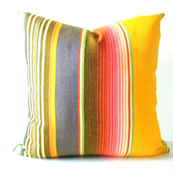 Aztec Pillows, Mexican Pillows, Tribal Pillows, Aztec Cushion, Pillows, Serape Pillow, Southwestern pillows, 20 inch