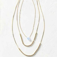 Lila Delicate Layering Necklace Set