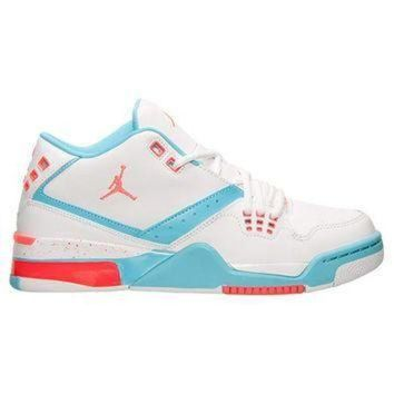 DCK7YE Girls' Grade School Air Jordan Flight 23 (3.5y-9.5y) Basketball Shoes