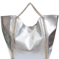 Chain of Command Bag - Silver