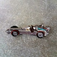 Lorin in a Delorean! Bassnectar Back to the Future Mashup Pin