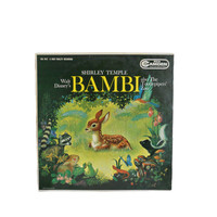 Vintage Record Bambi and the Tootlepiper's Zoo LP - Dramatized Story by Shirley Temple - 1960
