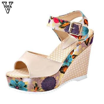 Sandals Wedges Fashion Women Shoes high-heeled shoes Platform