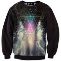 Space Pyramid Crewneck