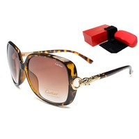 Cartier Women Casual Popular Summer Sun Shades Eyeglasses Glasses Sunglasses