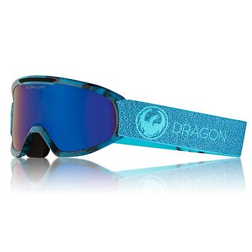 Dragon - DX2 Mill Snow Goggles / Lumalens Blue Ion + Lumalens Amber Lenses