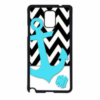 Chevron Anchor Personalized Samsung Galaxy Note 4 Case
