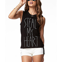 Steal My Heart Muscle Tee | FOREVER 21 - 2051141019