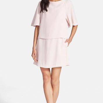 Women's See by Chloe Sanded Crepe Popover Dress