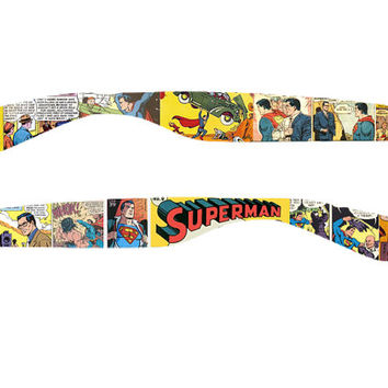 Superman Sunglasses by CustomSunglassShop on Etsy