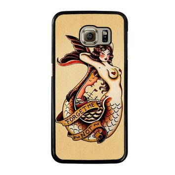 SAILOR JERRY TATTOO MERMAID Samsung Galaxy S6 Case