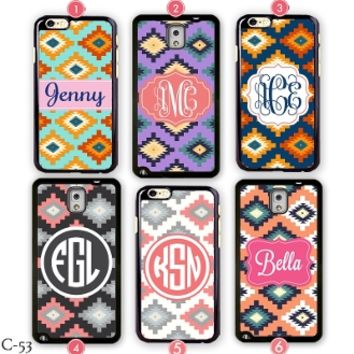 Personalized Monogram iPhone 5S case Samsung galaxy Note 3 Cover