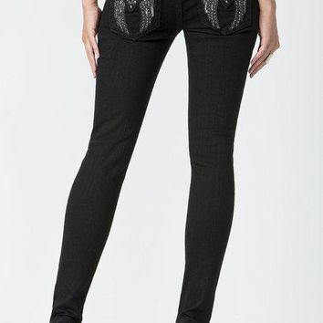 MISS ME - DARK ANGEL SIGNATURE SKINNY JEANS - JP5082S62