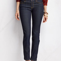 Women's Fit 1 Slim Denim Ankle Pants from Lands' End
