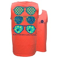 Southern Couture Wild Aviators Comfort Colors Tank Top