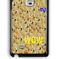 Samsung Galaxy Note Edge Case - Hard (PC) Cover with Doge Plastic Case Design