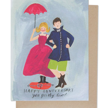 Quirky Anniversary Card