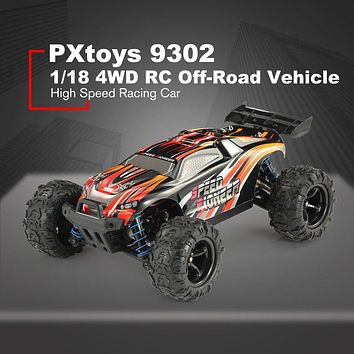 PXtoys 9302 1/18 4WD RC Car with Off-Road Buggy Vehicle High Speed Racing Car for Pioneer RTR Monster Truck