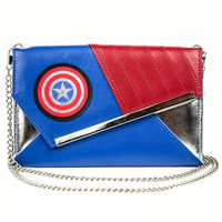 Marvel Captain America Envelope Wallet