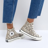 Converse Chuck Taylor All Star '70 High Top Sneakers In Snake Print at asos.com