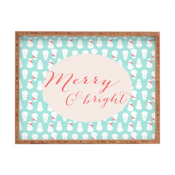 Allyson Johnson Merry And Bright Rectangular Tray