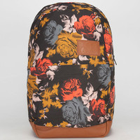 Volcom Going Back Backpack Black Combo One Size For Women 21556214901