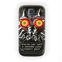 Legend Of Zelda Majoras mask Quotes For Samsung Galaxy S5 Case