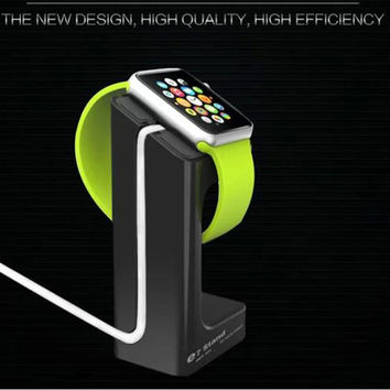 For apple watch magnetic charge dock charge stander holder For iWatch E7 stand for apple watch with retail box free shipping