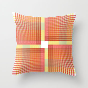 Crossing  Throw Pillow by SensualPatterns