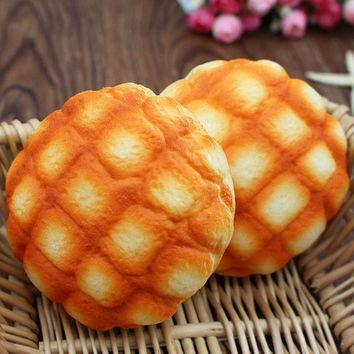 Jumbo Pineapple Bun Squishy Rising Strap Bread Toys