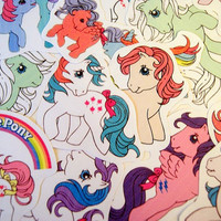 My Little Pony sticker pack by PKPaperKitty on Etsy