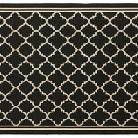 Vale Outdoor Rug, Black, Area Rugs