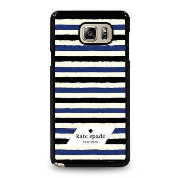 KATE SPADE IN STRIPES Samsung Galaxy Note 5 Case Cover